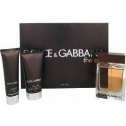 Dolce & Gabbana The One Men EdT 100 ml + balzam po holenie 75 ml + sprchový gél 50 ml darčeková sada