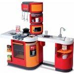 Smoby Kuchynka Cook Master červeno-oranžová