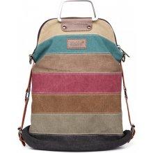 KONO taška a batoh v jednom dúhová