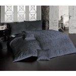 Matějovský damašek obliečky Lolita tmavo šedá Egyptská bavlna 210x240 2x70x90