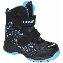 LOAP Chlapčenské zimné topánky Chosee čierno-modré