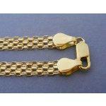 MARM Design Zlatá dámska retiazka vzor bismark žlté zlato DR455841Z 9d4357fc945