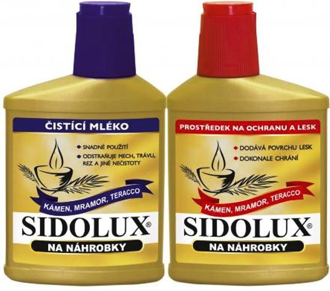 ca52223a7 Sidolux Z na náhrobky leštěnka 330 g + čistící mléko 250 ml