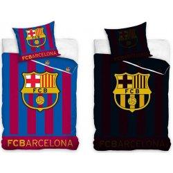 0defc5d31e924 Carbotex bavlna svietiace obliečky FC Barcelona Stripes 140x200 70x80