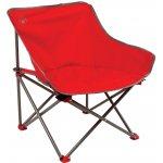 Coleman Kick-back chair (Red) Červená kempinková židle