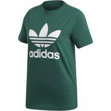 adidas Dámske tričko Originals TREFOIL TEE Svetlo zelená   Biela 0c57c31cd9f