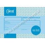 Optys 1037 Výdajový doklad A6, 100 listů