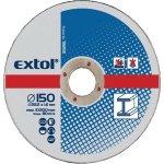 EXTOL CRAFT kotúče 230x2, 5x22, 2mm, rezné na kov 5ks 108050