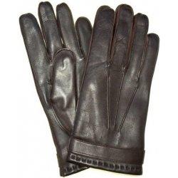 b65162c193 Pánske kožené rukavice z talianskej jahňaciny hnedé alternatívy ...