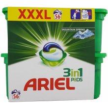 Ariel Mountain Spring XXXL gélove tablety na pranie 56 ks