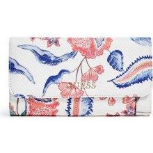 08dc52dd2 Guess peněženka Delaney Floral Multi Clutch Bílá multi Barva: Bílá multi,  určení: dámské