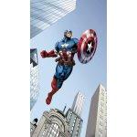 d545d6530 FCC L 4127 AG Design textilný foto záves detský obrazový Captain America - Kapitán  Amerika Disney
