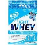 6PAK Light Whey 2000 g