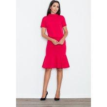 ff4e5480d7dc Figl dámska sukňa s volánem M538 červená