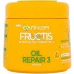 Garnier Fructis Regeneracia a lesk maska pre vysušené a poškodené vlasy 300 ml