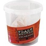 Black melírovací prášok farebný - Flash Meches, Black 250 g