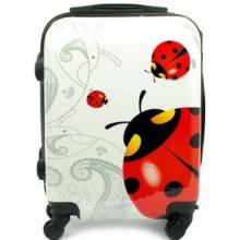 97604cb636a0b LUMI wk03 cestovný kufor malý 36,5x20x51 cm Ladybug