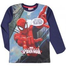 E plus M Chlapčenské tričko Spiderman - modré