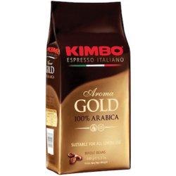 kava Kimbo Aroma Gold zrnková káva 1 kg