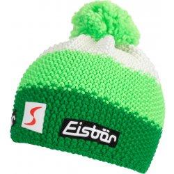 c81785849 Eisbär Star Neon Pom MÜ SP dětská zimní čepice s bambulí zeleno bílo růžová