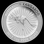 Kangaroo Strieborná minca 1 oz 2017