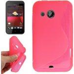 Púzdro S-Line HTC Desire 200 ružové
