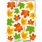 Dimex - Dekoračné nálepky na stenu Jesenné lístie - 50 x 70 cm
