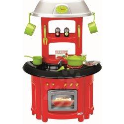 Ecoiffier kuchynka 100% Chef 1745 červená