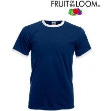 Fruit of the Loom Ringer tmavo modrá
