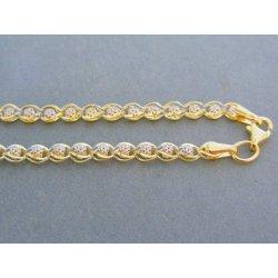 21de47212 MARM Design Zlatá retiazka dámska žlté biele zlato VR45526V ...