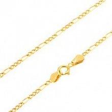 Šperky eshop Retiazka v žltom zlate GG69.17
