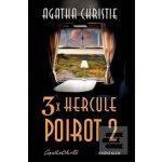 3x Hercule Poirot 2 - Agatha Christie
