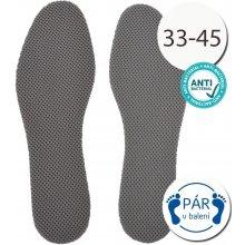 b4ef115b98c7 SISI NO.11893-1-Grey Antibakteriálne vložky do topánok šedá