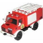 Stavebnice Monti 16 Fire Brigade Mercedes Unimog v krabici 22x15x6cm 1:48