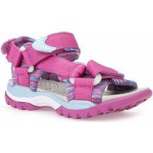 537bf6b760a7 Geox Športové sandále J BOREALIS G. A Ružová