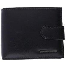 739a20a28 Bellugio Pánska kožená peňaženka čierna U073 U073