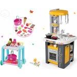 Smoby set kuchynka Tefal Studio so sódovačom a vozík so zmrzlinou Délices 311000-4