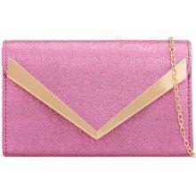 a03300b7f9 elegantná listová kabelka K-Z2030 ružová