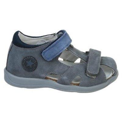 Protetika ortopedická obuv T-116B-F92 šedo-modrá