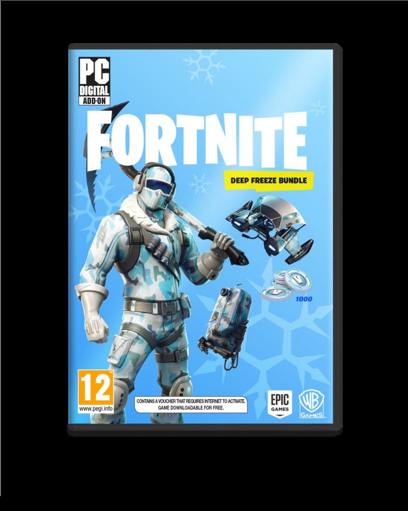 9e856e55b Fortnite: Deep Freeze Bundle od 22,79 € - Heureka.sk