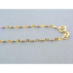 ff4d394da MARM Design Zlatá retiazka žlté zlato jemný vzor VDR42102Z ...
