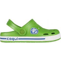85d17f6773b0e Coqui Detské sandále Froggy 8801 Lime/White 101966 alternatívy ...