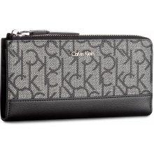 Calvin Klein Veľká peňaženka Dámska Frame Large Ziparoun K60K604173 019 34cb481d8dd