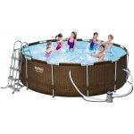 Bestway 56379 RATTAN bazén s konštrukciou 366 x 100 cm, 5v1
