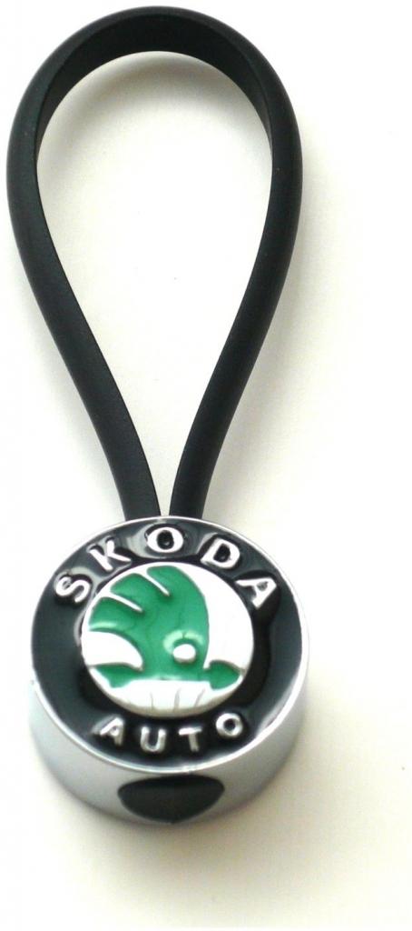 Prívesok na kľúče s logom Škoda 8392cd6271f