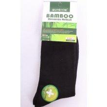 pánske ponožky bambusové čierne