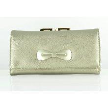 ... Najkrajšie kabelky. Verde Peňaženka s mašľou VD 18 0000831 silver 884e3c44955