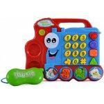 TFY A2 Vláčik s telefónom pre deti, ktorý učí a zabáva