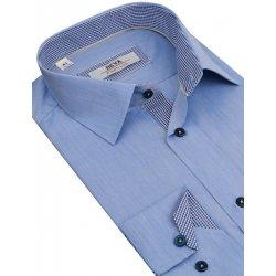 0046dd6a6a1b BEVA FASHION biznis košeľa BEVA (slim) 2K95 Modrá od 29