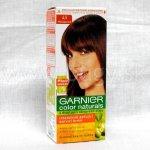 Garnier Color Naturals s dvojitou olivovou starostlivosťou mahagon 4.5